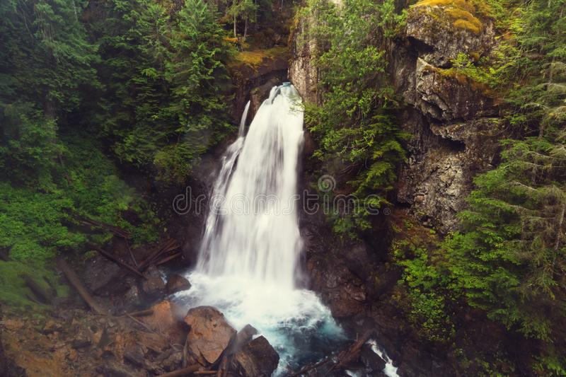 Cascade à Vancouver photo stock