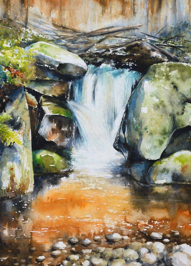 Download Cascade illustration stock. Illustration du horizontal - 76083161
