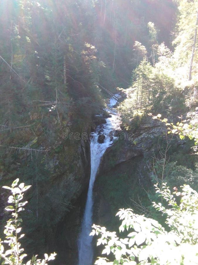 Cascade autrichienne image stock