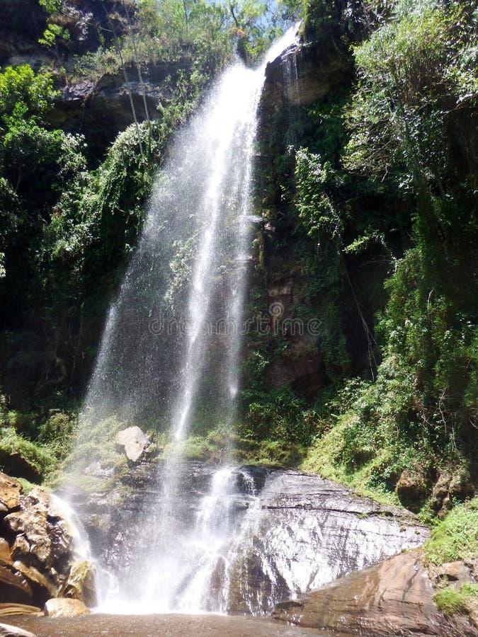 Cascade Brésil photos libres de droits
