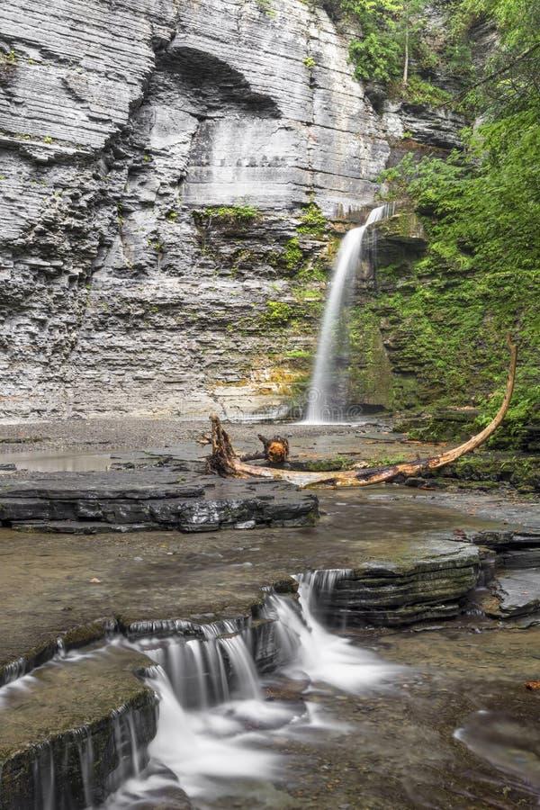 Cascade chez Eagle Cliff images stock