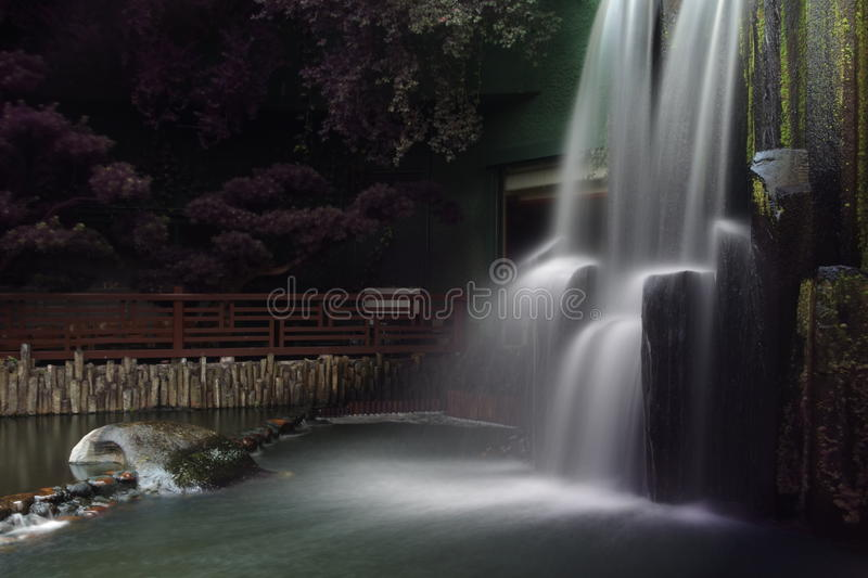 Cascade, Chi Lin Nunnery images stock