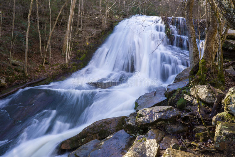 Cascade courue par hurlement 2, Eagle Rock, VA image libre de droits