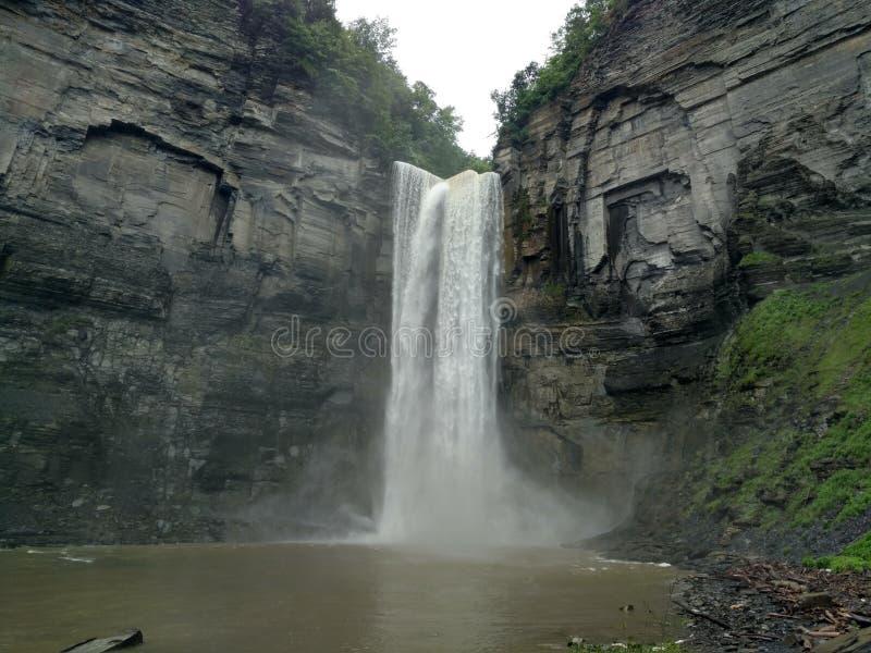 Cascade dans Ithaca, New York photos libres de droits