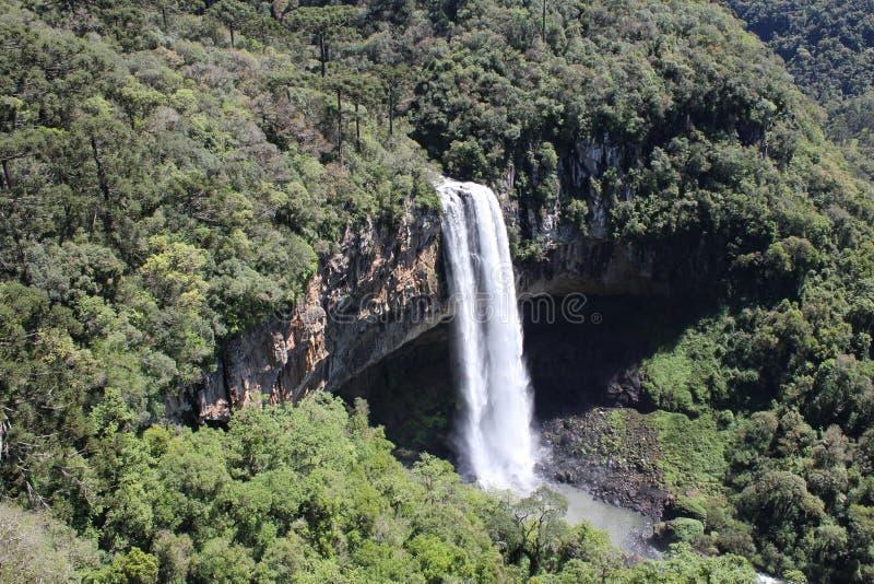 Cascade de Caracol photo libre de droits