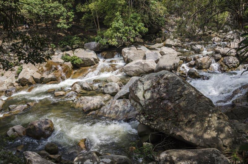 Cascade de Chamang, Bentong, Malaisie images stock