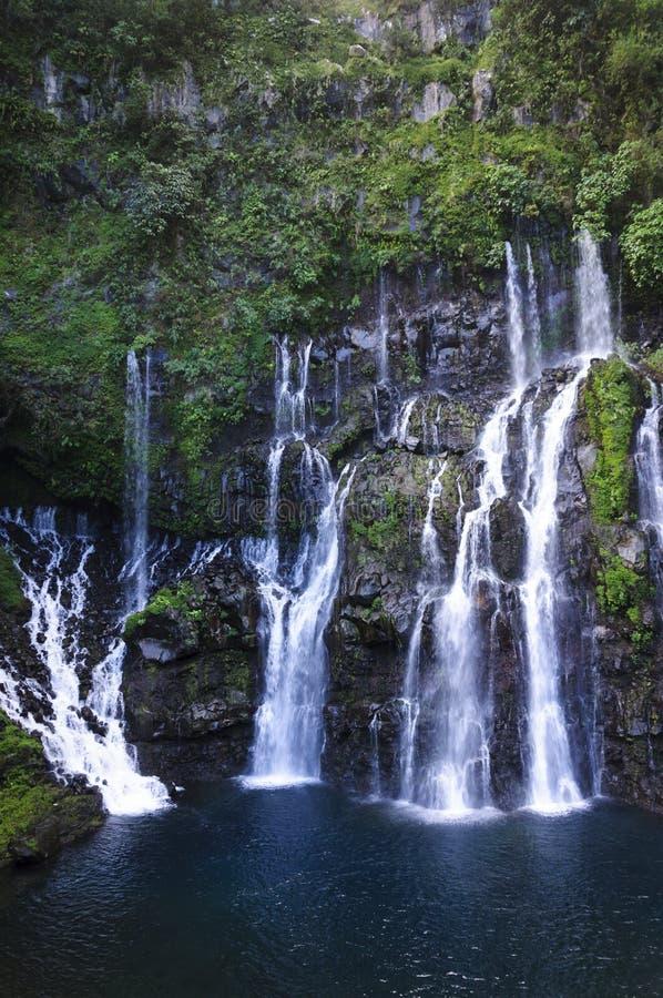 Cascade de Grand Galet, Ile de La Reunion stock photo