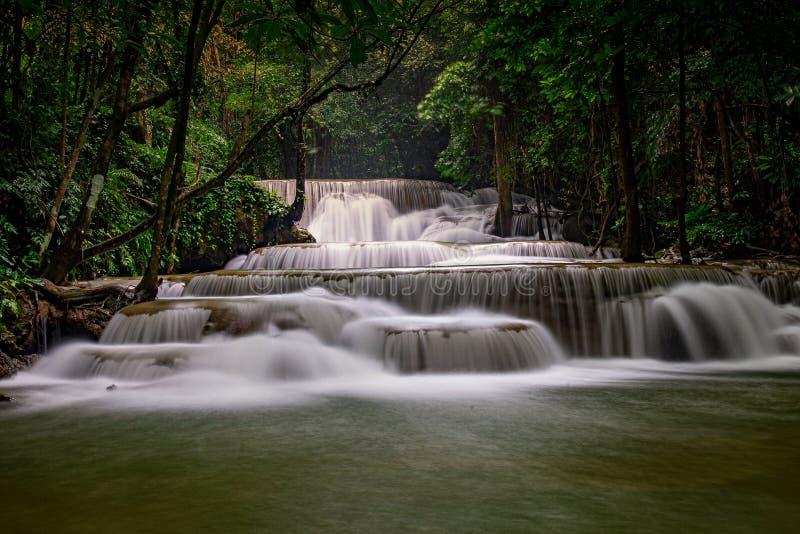 Cascade de Huai Mae Khamin photographie stock