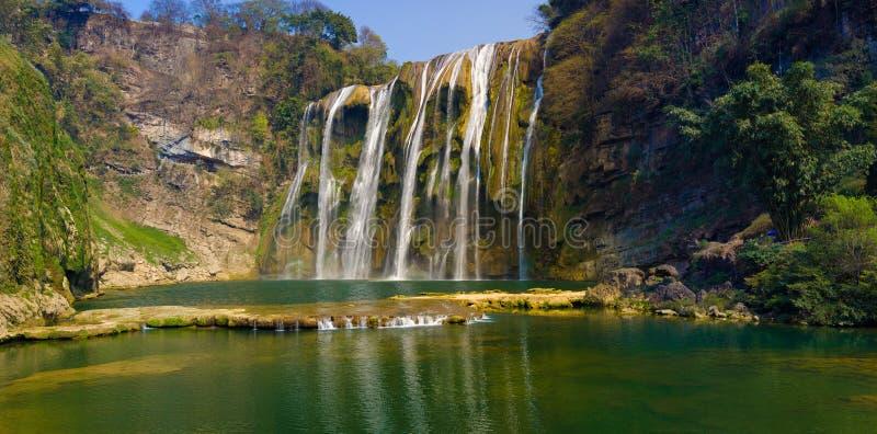 Cascade 2# de Huangguoshu images libres de droits