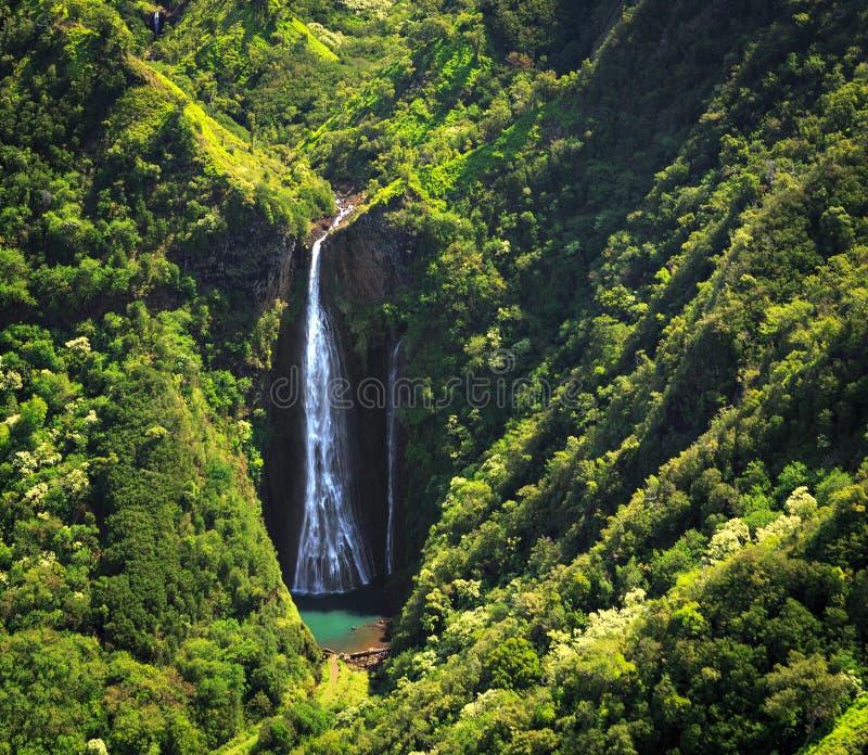 Cascade de Kauai photo stock