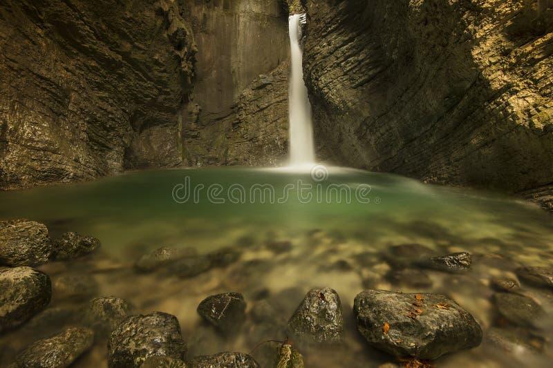 Cascade de Kozjak photos stock