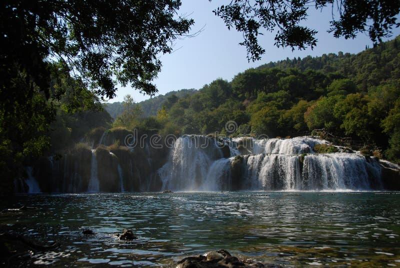 Cascade de Krka photographie stock libre de droits