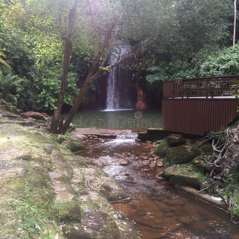Cascade de lama de Tasek image stock