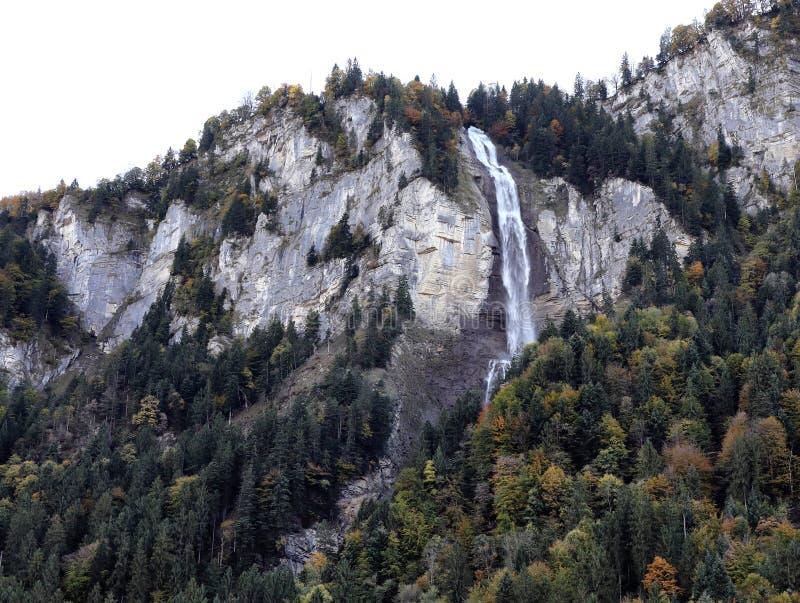 Cascade de Merlingen images stock