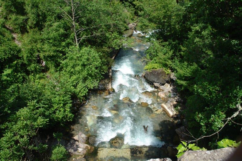 Cascade de rivière image libre de droits