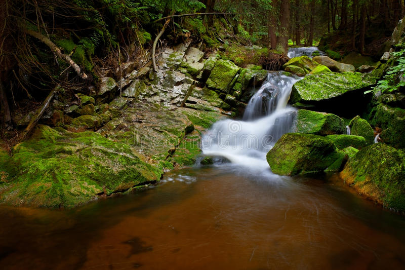 Cascade de rivières photos stock
