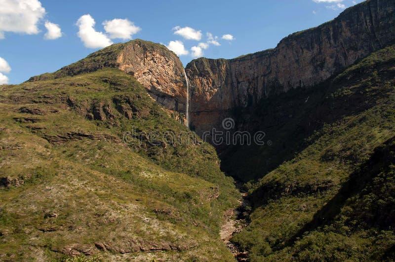 Cascade de Tabuleiro photographie stock libre de droits