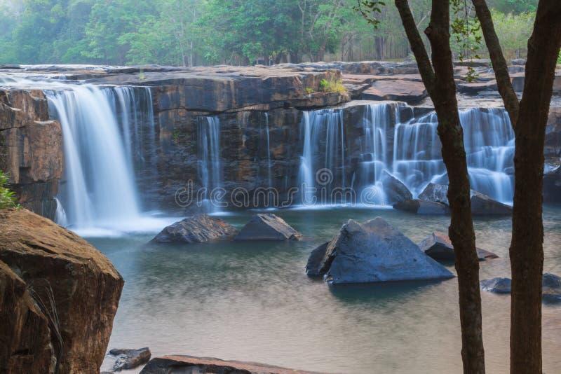 cascade de Tad-tonne image stock