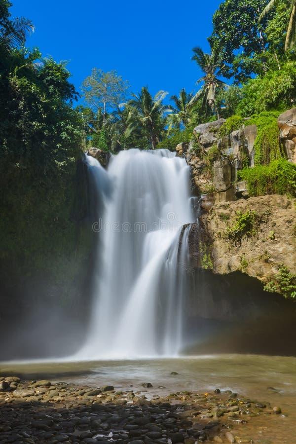 Cascade de Tegenungan - île Indonésie de Bali photographie stock libre de droits