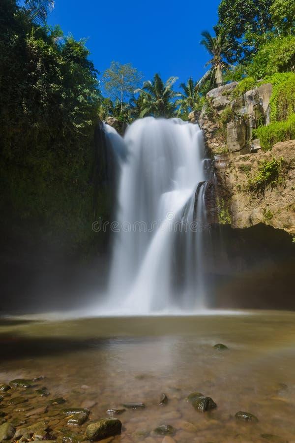 Cascade de Tegenungan - île Indonésie de Bali photos libres de droits