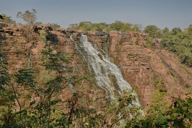 Cascade de Tirathgarh photo libre de droits