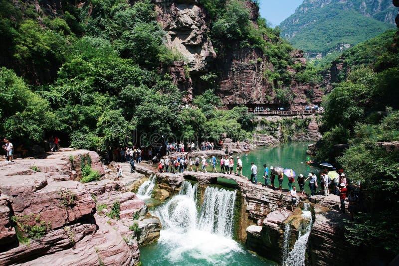 Cascade de Yuntai photo libre de droits