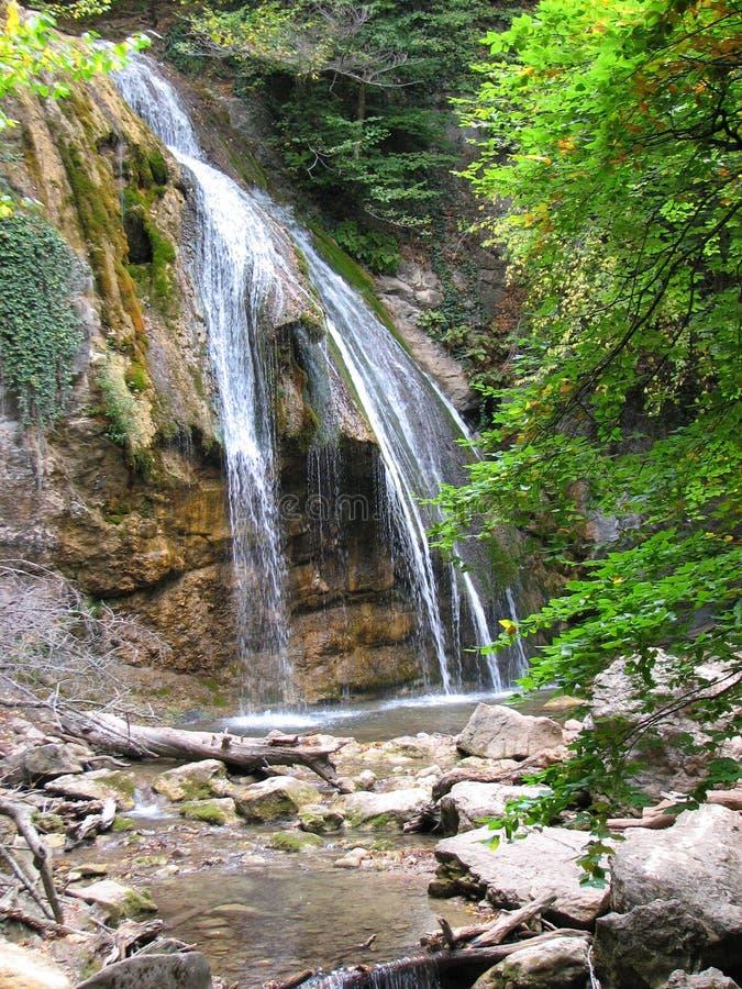 Cascade Djur - Djur Alushta, Russie photos stock