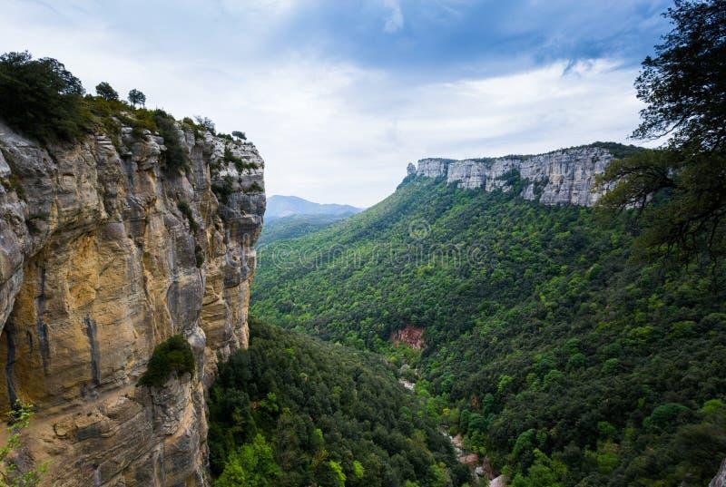 Cascade en Catalogne (Espagne) image stock