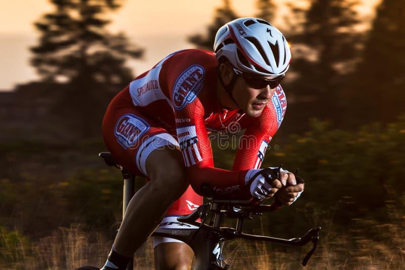 Cascade 2014 faisant un cycle l'épreuve sur route classique image stock