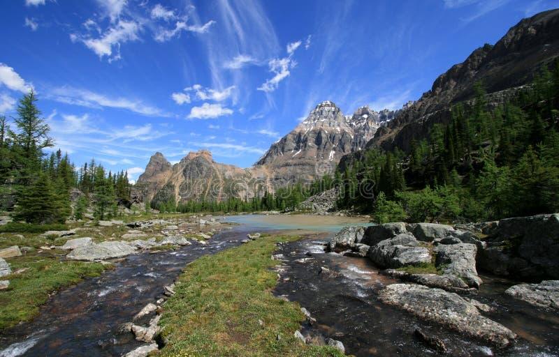Cascade Lakes royalty free stock image