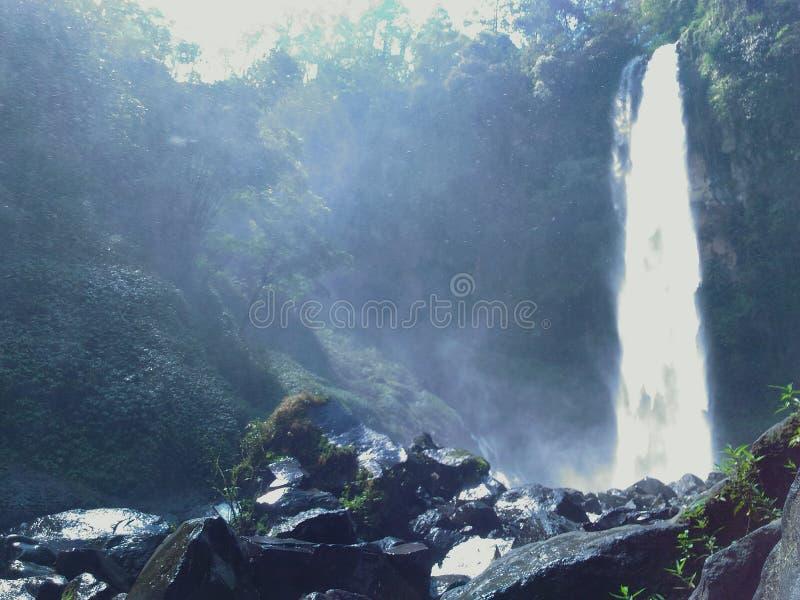 Cascade merveilleuse photo libre de droits
