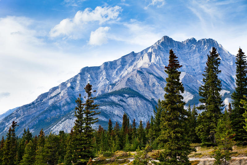 Cascade Mountain Royalty Free Stock Photos