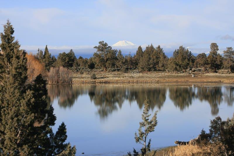 Cascade Mountain Vista royalty free stock photography
