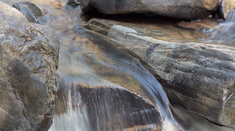 Cascade naturelle photo libre de droits