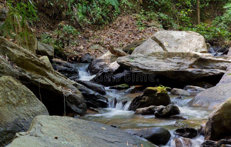 Cascade naturelle image libre de droits