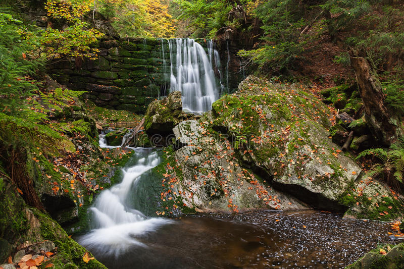 Download Cascade on the river stock photo. Image of forest, gorge - 33188006