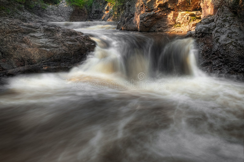 Download Cascade River Waterfall Royalty Free Stock Photography - Image: 7223967