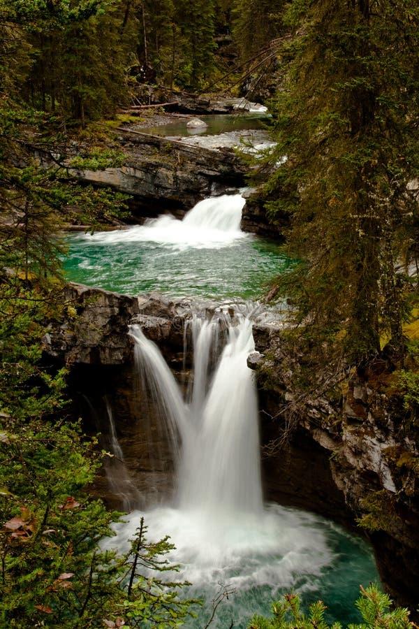 Cascades stock afbeelding