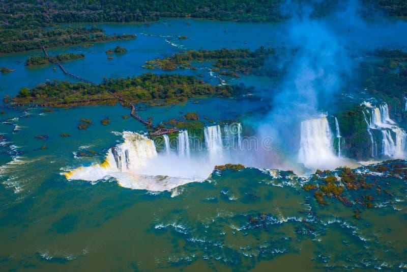 Cascades d'Iguacu image libre de droits