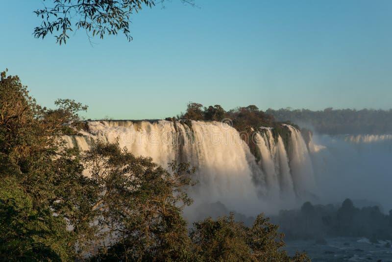 Cascades d'Iguazu photos libres de droits
