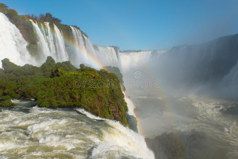 Cascades d'Iguazu image stock