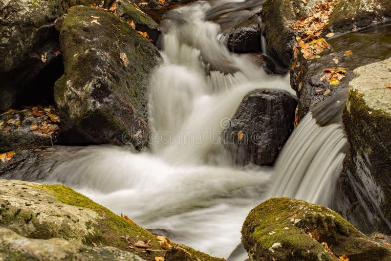 Cascades de cascade, la Virginie, Etats-Unis images stock