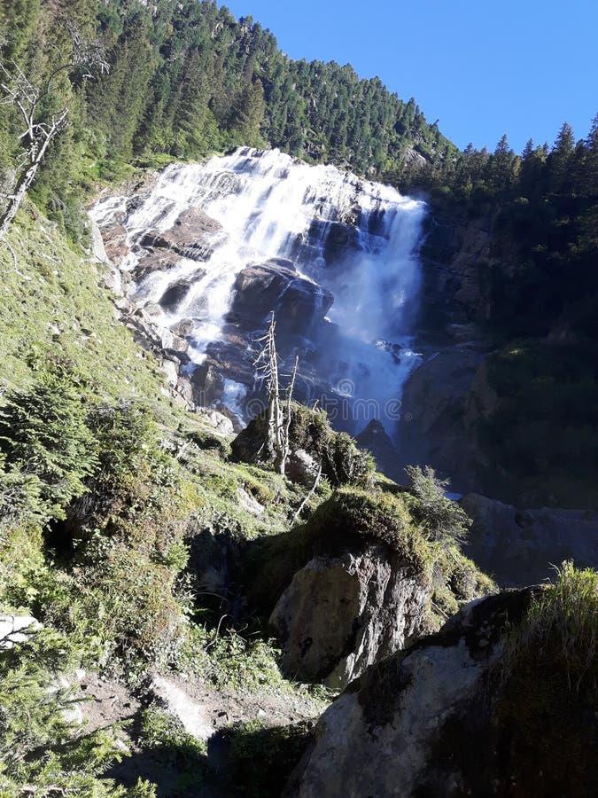 Cascades en Autriche photo libre de droits