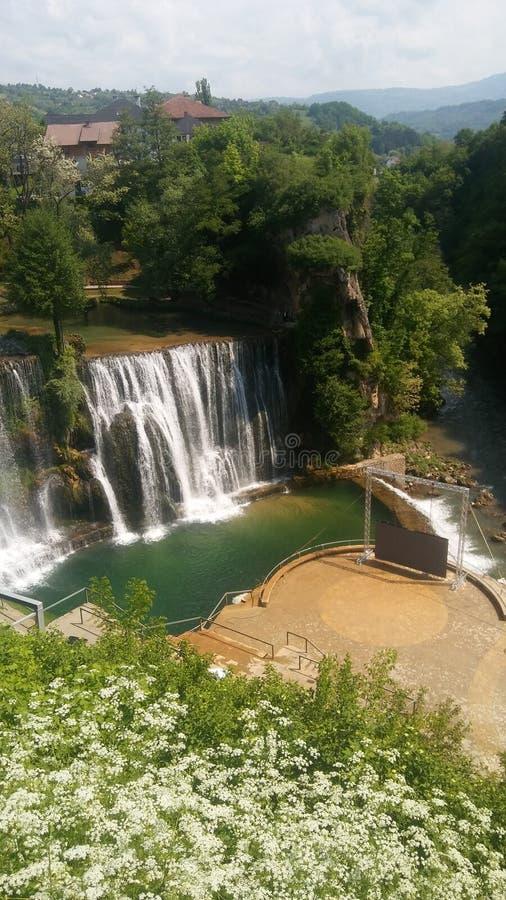 Cascades en la Bosnie-Herzégovine photos stock