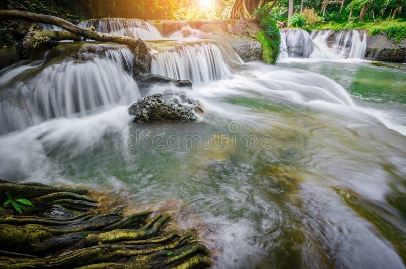 Cascades Namtok Chet Sao Noi photographie stock libre de droits