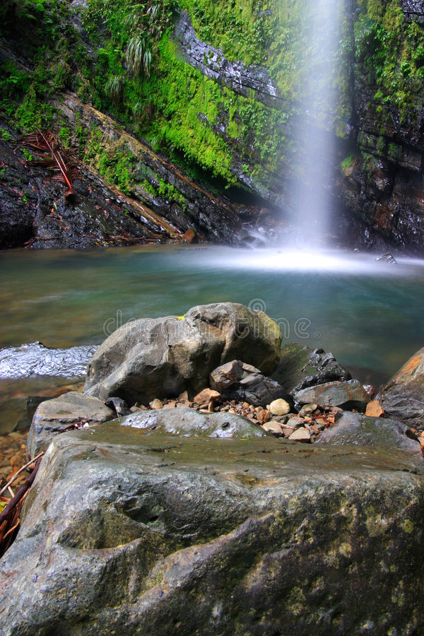 Cascades tropicales image stock