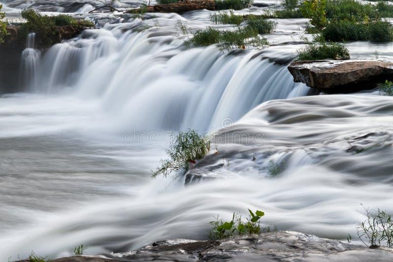 Cascading West Virginia Waterfall royalty free stock photos