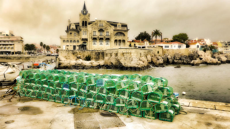 cascais葡萄牙 库存照片