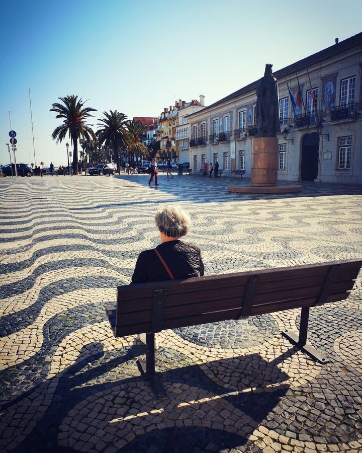 Cascais, Lisboa, Portugal. Street, urban royalty free stock image