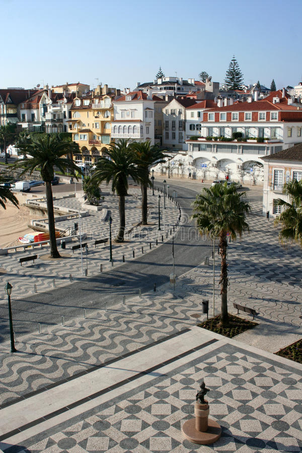 Cascais in Portugal stock foto's